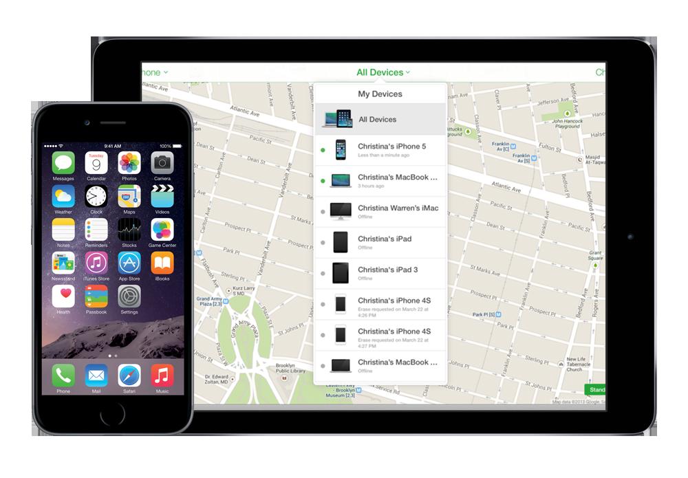 iPhone fjern min enhed fra iColud